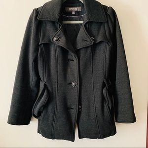 Kenneth Cole Reaction Charcoal Peacoat
